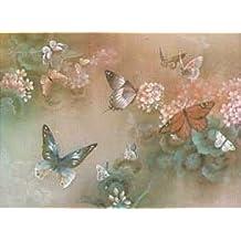Lena Liu - Free Flight I - Rust Butterfly