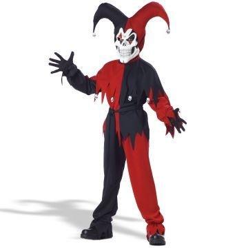 [Evil Jester Child Costume - X-Large] (Evil Jester Child Costume)