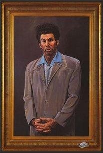 Seinfeld (The Kramer Portrait) Tv 24x36 Wood Framed Poster Art Print