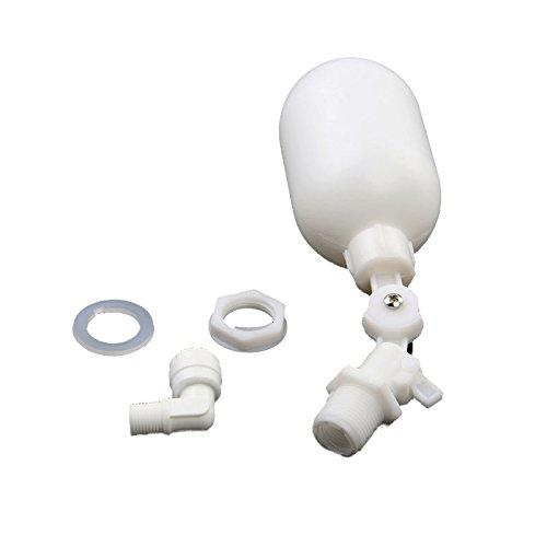 (EDIONS Adjustable Mini Plastic Float for Aquarium DI Reverse Osmosis System(White))