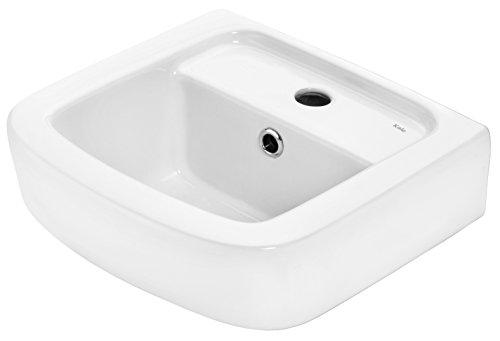 Cornat HWBONDCBD3500 35 cm ONDO Hand Washbasin - Clear - Caro Washbasin