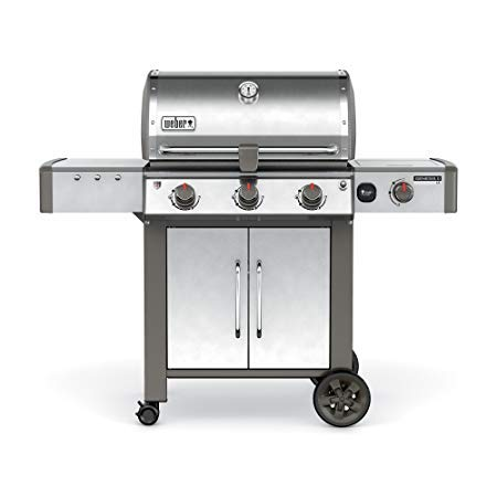 Weber 66014001 Genesis II LX E-340 Natural Gas Grill, Black ()