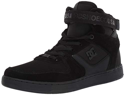 DC Men's PENSFORD Skate Shoe, Black, 8 M US