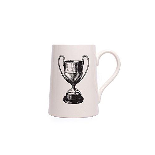 Izola Extra Large Ceramic 24 oz Viking Tankard Specialty Beer Mug - Trophy