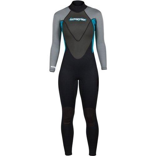 Hyperflex Wetsuits Women's Access 3/2mm Full Suit - (Teal, 14)