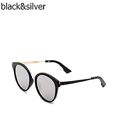 83664f588 Hectare Buy black silver: Top Espelho Oacuteculos de Sol Mulheres Oculos de  sol oacuteculos de Sol Do Vint: Amazon.in: Car & Motorbike