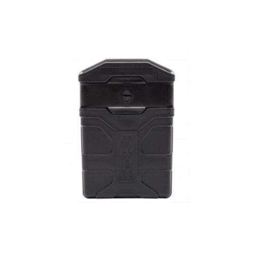 (Vista BH - CQC QuickMod, Mag Pouch, Fits ar 15 Magazine, Rotating and Locking Quick Detach Belt Attachment, Black Matte)