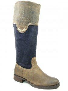 Brown Stiefel Dk blue Ottawa Schuhe Damen Tom Tailor F3lJcTK1