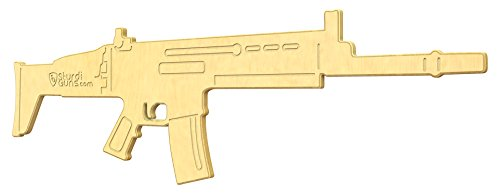 Guns Toy Wooden (SturdiGuns Kids Spec Ops Combat Rifle Wooden Toy Gun with Lifetime Guarantee, made in America, Extremely Durable)