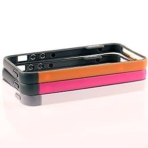 MOFY-Caso del cap'tulo TPU de parachoques para el iPhone 5/5S (colores surtidos)