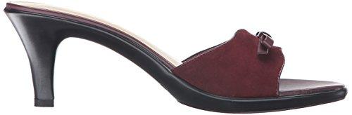 Sandal Women Athena Alexander Jemma Dress Suede Burgundy ISqUZP0