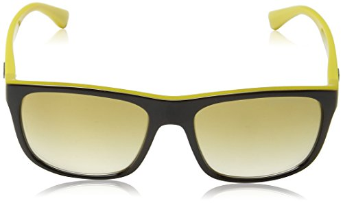 Top On Yellow ea4085 Brown Sonnenbrille Armani Emporio 55556e tfWqgn