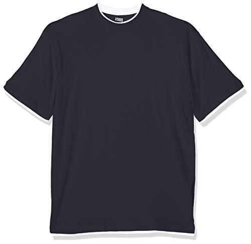 navy Tall Tee Classics Urban Contrast white Multicolore shirt T Uomo Bekleidung wqzFtI