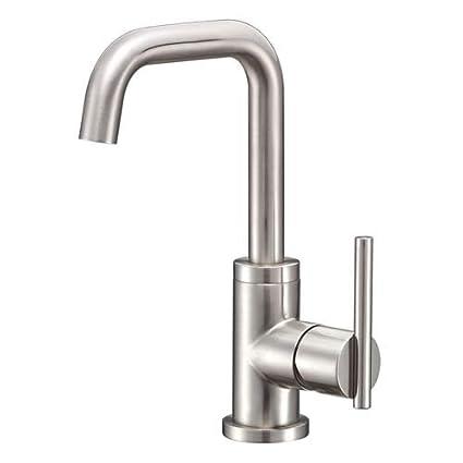 Danze D233158BN Parma Trimline Single Handle Lavatory Faucet with ...