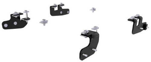 CURT 16427 Black 5th Wheel Hitch Mounting Brackets for 2014-2018 Ram 2500 (Base Rails Not ()
