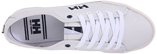 Helly Hansen Mens  Fjord Leather Sneaker White/Navy e0vhed