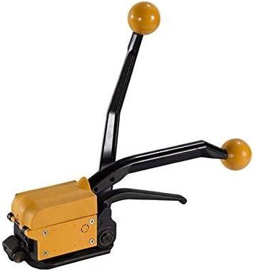 CGOLDENWALL ポータブル梱包機 バンド結束機 手動包装機 ★気楽に ★錆びにくい 8000Nの高張力 業務用 16mm~19mm(A333)