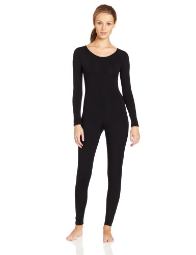 Capezio Women's Long Sleeve Unitard,Black,Medium