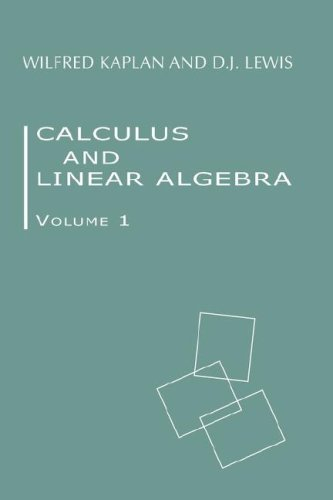 Calculus and Linear Algebra. Vol. 1