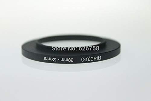 (Lens Lower Price Rise(UK) 39-52Mm 39 Mm - 52 Mm 39 to 52 Step Up Ring Filter Adapter)