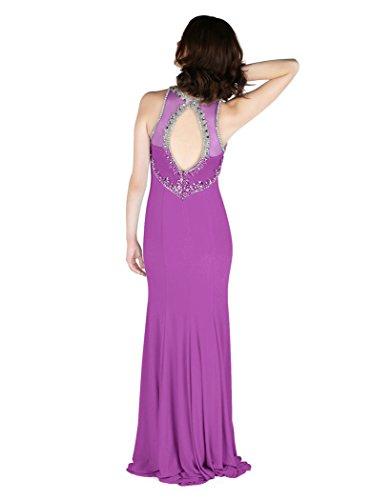 Blau Egg Dynasty Lavender Duck Damen Stil 1022809 Schal ohne Spirit Reese Kleid langes XwqBwg