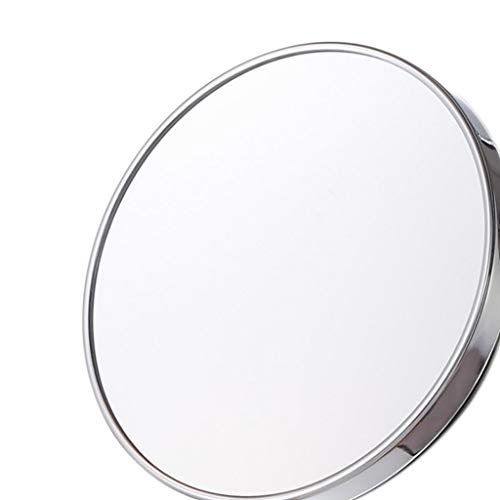 GRJ Household Items& Cosmetic Mirror Bathroom Wall Suction 3X Magnifying HD for - Bathroom Adhered Mirrors