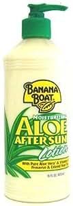 Banana Boat 473 ml Aloe After Sun Lotion Pump #008 (Pack of 6)