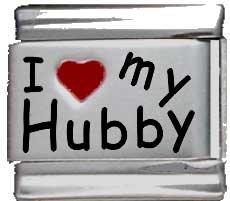 I Heart My Hubby Red Heart...