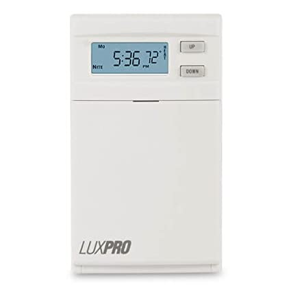 Lux PSPLV512 Thermostat Digital Line Voltage Thermostat LuxPro | Programmable