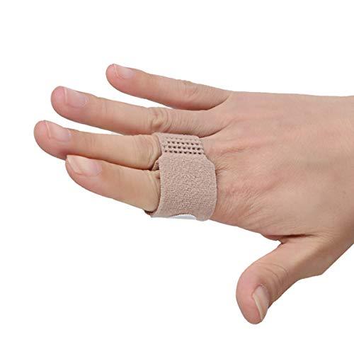 Finger Brace Splint for Arthritis Support Trigger Finger, Used for Index Middle Pinky Fingers, Toe Wraps Broken Toe Splint Straightener for Hammer Toe (Finger Brace 6pcs [Thin]) ...
