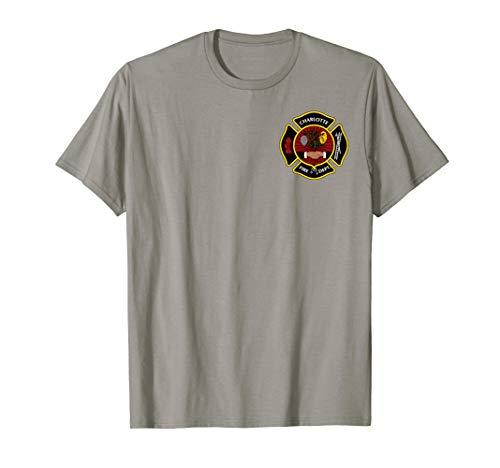 Charlotte Fire Department tshirt shirt -