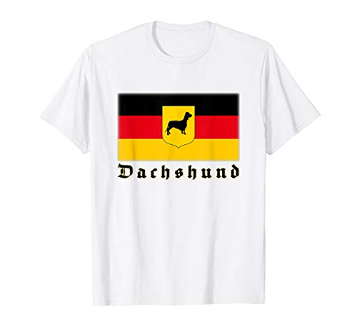 German Dachshund Flag T-shirt