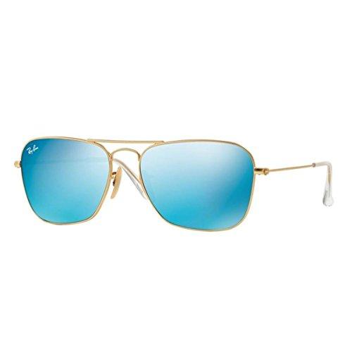 3136 Sonnenbrille RB Gold CARAVAN Gold Matte Ban Ray Matte 1wHxp7p