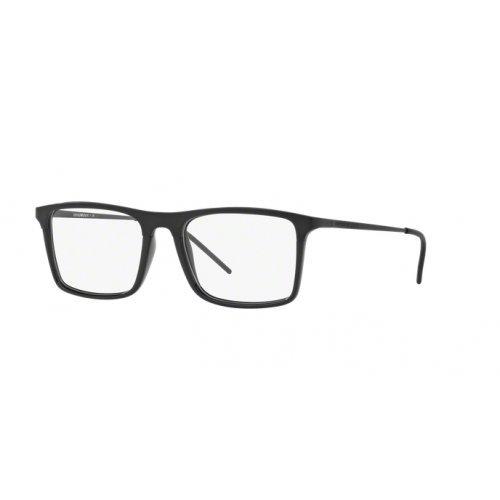 Emporio Armani EA1058 Eyeglass Frames 3001-55 - Matte Black / Black