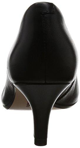 Clarks Isidora Faye, Zapatos de Tacón para Mujer Negro (Black Leather)