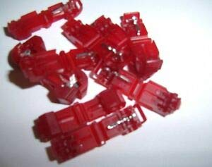 Natural Page (500) 3M T-Taps/Male Insulated 22-18 Ga Car Audio Wire Terminals Connectors Terminals