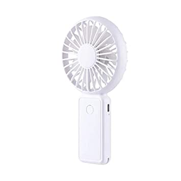 Color : Pink, Size : One-Size Zxcvlina Portable Personal USB Fan Table Fan USB Fan with Base Quiet Operating with 3 Speed for Home Office