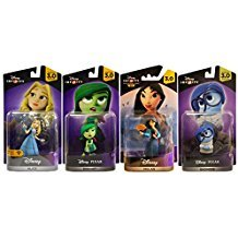 Disney Infinity 3.0 - Alice/Disgust/Mulan/Sadness (4-Pack) -