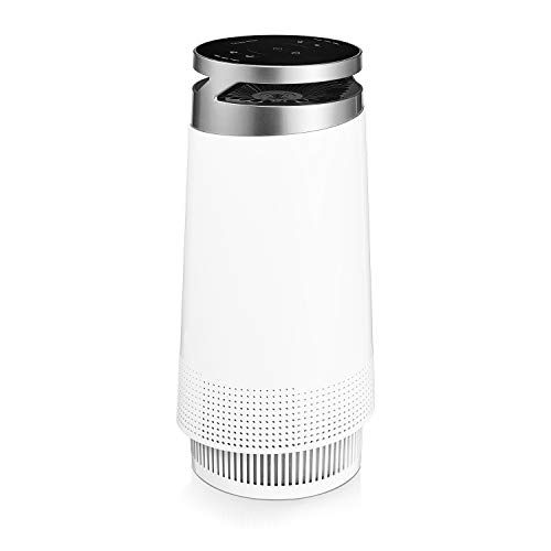 Think Best Air Purifier for Home, Smokers, Allergies, Pet Hair, True HEPA Filter, Ultra-Quiet Technology, 4-Stage…