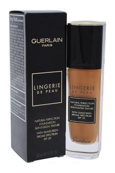 Guerlain Lingerie De Peau Natural Perfection Foundation Spf 20 W/sunscreen-05n Fonce Deep Foundation For Women 1 oz