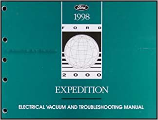 1998 ford expedition wiring diagrams 1998 ford expedition electrical   vacuum troubleshooting manual  1998 ford expedition electrical