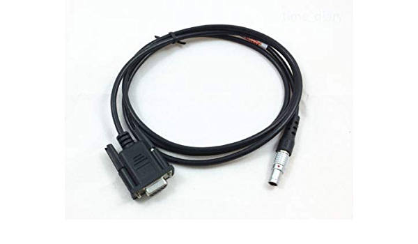 Amazon Com New Com Port Download Cable Rs 232 Data Cable For Leica Total Stations Industrial Scientific