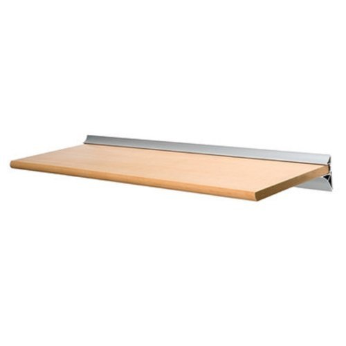 Decoratieve 8''X16'' Mounted Wall Shelf with Hardware-Beech (tan wood color)