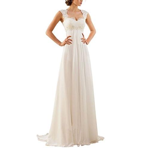 a48e9913e57 Eros ebridal sin mangas Punta gasa boda - Vestido de novia en venta ...