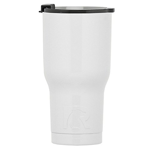 RTIC Double Wall Vacuum Insulated Tumbler, 20 oz, White