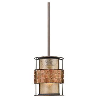 Quoizel MC842PRC 1-Light Laguna Mini Pendant in Renaissance Copper