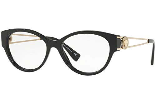 Eyeglasses Versace VE 3254 GB1 BLACK (Optical Frames)