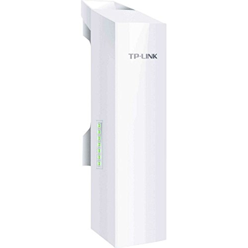 TP-Link Long Range Outdoor Wifi Transmitter – 2.4GHz, 300Mbps, High Gain Mimo Antenna, 5km+ Point to Point Wireless Transmission, PoE Powered w/ PoE Adapter Included, WISP Mode (CPE210)