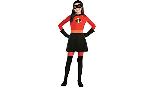 Party City The Incredibles 2 Dress Halloween Costume for Girls, 3-4T, with Included Accessories