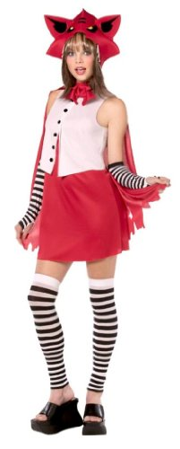 Rebel Toons Costumes (Rebel Toons Teen Red Riding Hood Costume)